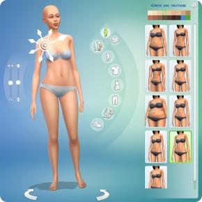 Die Sims 4 erstelle einen Sim: Körper gestalten