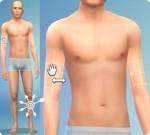 Sims 4: Körper formen im CaS: Oberarm