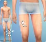 Sims 4: Körper formen im CaS: Oberschenkel