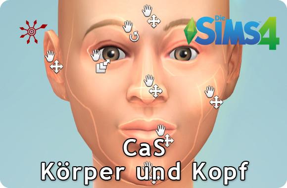 Die Sims 4 Erstelle einen Sims (CaS): Körper und Kopf formen