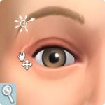 Sims 4: Gesicht formen im CaS: Augenaußenwinkel