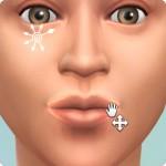 Sims 4: Gesicht formen im CaS: Mundwinkel