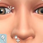 Sims 4: Gesicht formen im CaS: Nasenlöcher