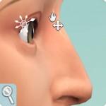 Sims 4: Gesicht formen im CaS: Nasenwurzel