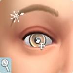 Sims 4: Gesicht formen im CaS: Pupillengröße