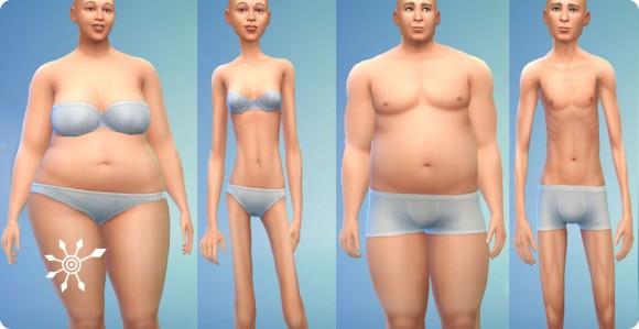 Körperextreme für Sims