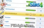 Die Sims 4 Fähigkeiten