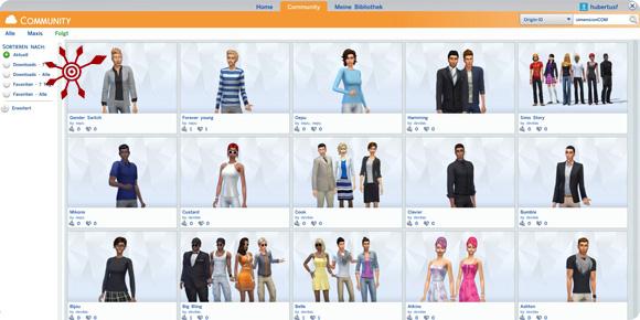 Die Sims 4 Galerie Community