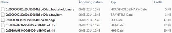 Die Sims 4 Haushalt setzt sich aus mehreren Dateien zusammen
