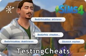 Die Sims 4 TestingCheats