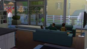 Split-Level in Die Sims 4: Wohnbereich innerhalb des Fundaments