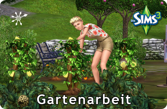 Sims 3 Fähigkeit Gartenarbeit