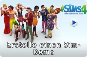 Die Sims 4 Erstelle einen Sim-Demo