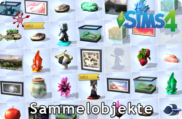 Die Sims 4 Sammelobjekte und Sammlungen