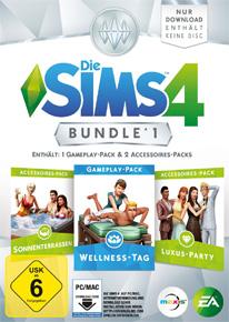 Die Sims 4 Bundle 1 mit Wellness-Tag, Sonnenterassen und Luxus-Party