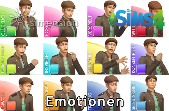 Die Sims 4 Emotionen