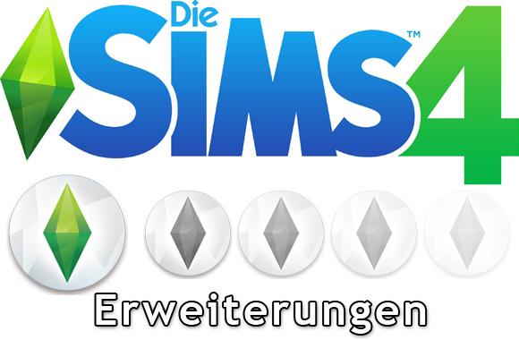 Die Sims 4 Erweiterungen