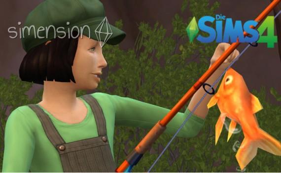 Die Sims 4 Fähigkeit Angeln