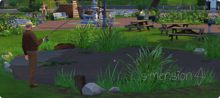 Fähigkeit Angeln lernen in Die Sims 4