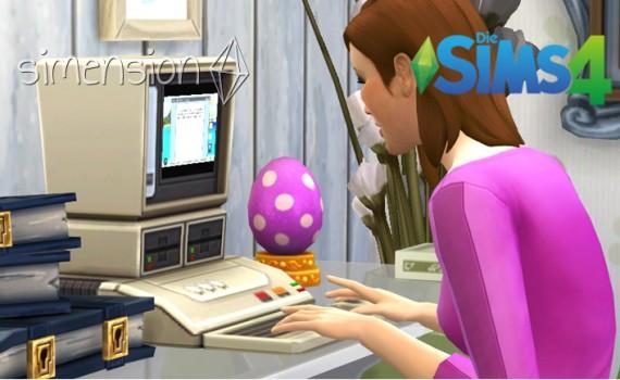 Die Sims 4 Fähigkeit Schreiben