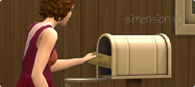 Buch an Verlag verkaufen mit der Fähigkeit Schreiben in Die Sims 4