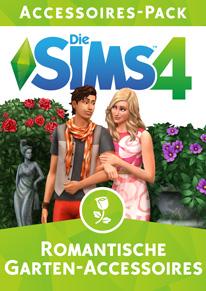 Die sims 4 Romantische Garten-Accessoires Cover