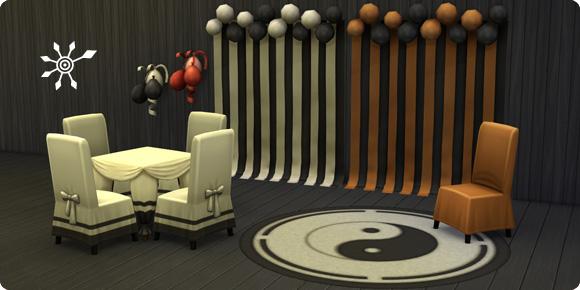 Die Sims 4 Bonusinhalte Partydekorationen