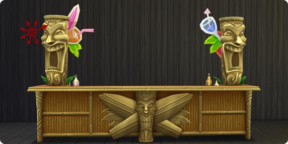 Die Sims 4 Bonusinhalte Tiki-Bar
