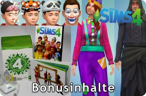 Die Sims 4 Bonusinhalte