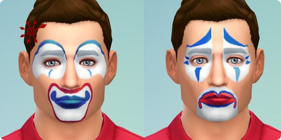 Die Sims 4 Bonusinhalte Gesichtmasken