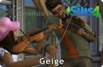 Die Sims 4 Fähigkeit Geige