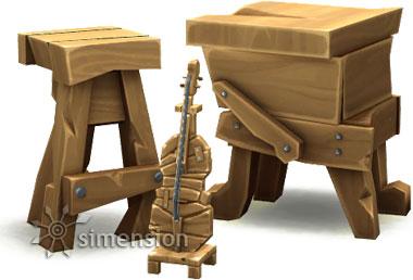 von geschicktem Sims geschreinerte Möbel mit der Qualität Okay