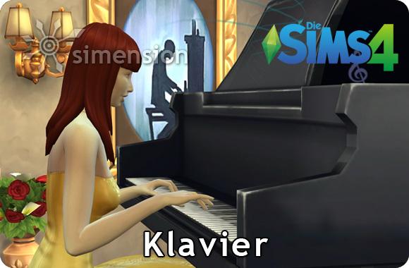 Sims 4 Fähigkeit Klavier