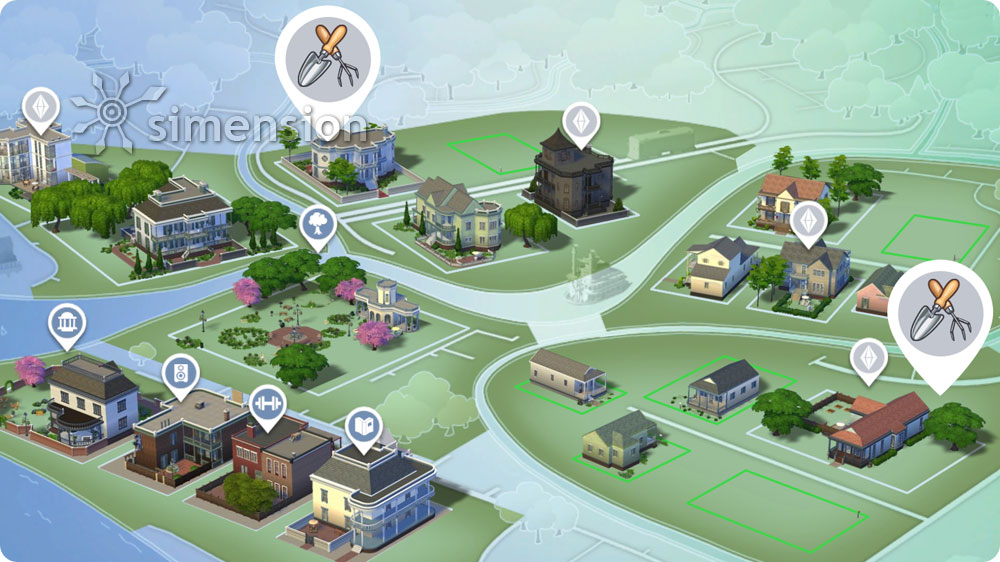 Sims 4 Sammlung Gartenarbeit