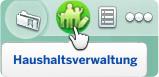 Haushaltsverwaltung öffnen in Die Sims 4