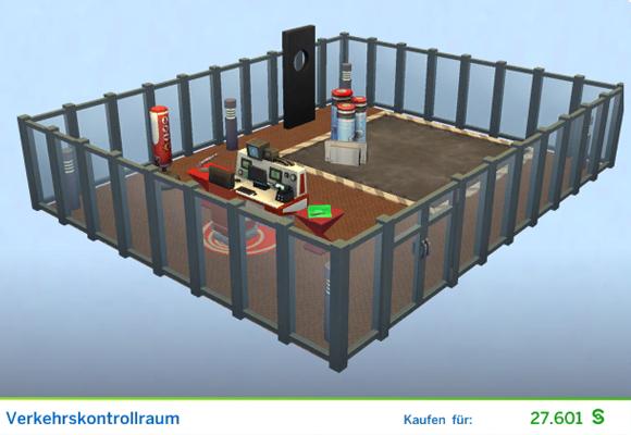 Sims 4 Karrierebelohnung Gestaltetes Zimmer Verkehrskontrollzentrum für  Interstellare Schmuggler