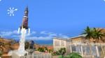 Sims 4 Karrierebelohnung: Raketenstart der Apollo-Rakete
