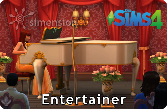 Sims 4 Karriere Entertainer