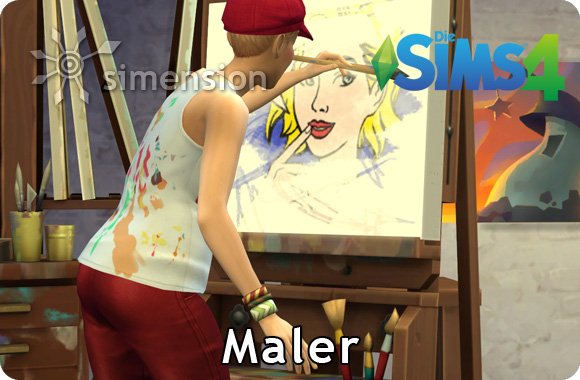 Sims 4 Karriere Maler