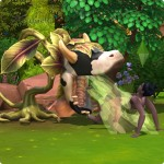 von der Kuhpflanze ausgespukt werden in Die Sims 4