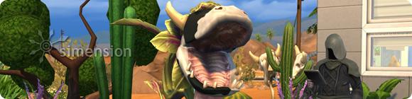 Tod durch die Kuhpflanze in Die Sims