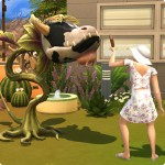 Kuhpflanze füttern in Die Sims 4