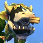 Gefährliches Kuchenangebot der Kuhpflanze in Die Sims 4