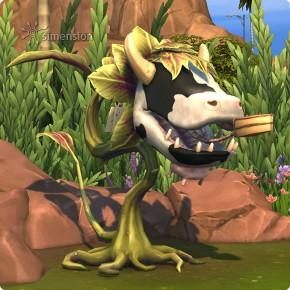 Kuchenangebot der Kuhpflanze in Die Sims 4