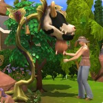 Kuhpflanze melken in Die Sims 4