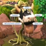 Optionen an der satten Kuhpflanze in Die Sims 4