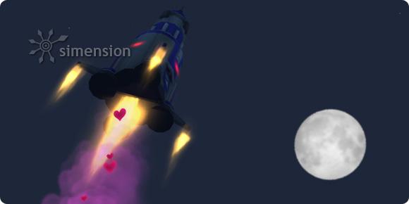 Option Baby machen am Raumschiff lässt Sims ihren Nachwuchs im All zeugen