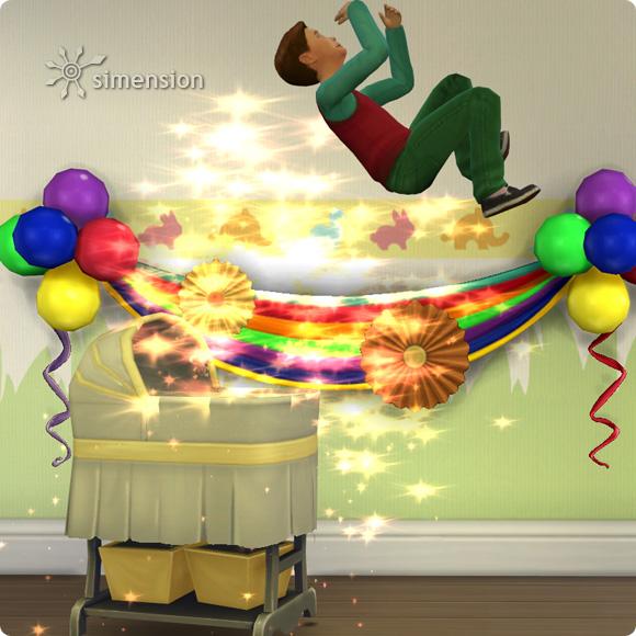Sims 4 Baby mit Verwandlung zum Kind