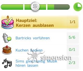 Sims 4 Partys und Gesellschaftliche Ereignisse als Prestigeveranstaltung mit Zielen