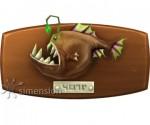 Sims 4 Fisch an der Wand Anglerfisch